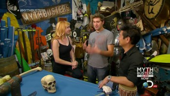Kari Byron - Battle of the sexes 2 - Mythbusters s12e05 - HDcaps 30/5/13
