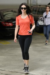 Emmy Rossum - out in LA 5/31/13