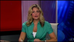 ELIZABETH MACDONALD cleavage - aug 1, 2011 - caps