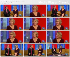 MEGYN KELLY - fnf after the show - april 7, 2013