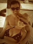 Megan Hilty Wearing a Bikini in Hawaii - May 27, 2013