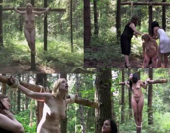 extreme bdsm crucified women tube