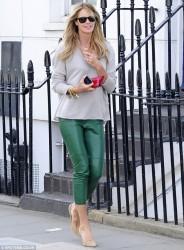 Elle Macpherson - out in London 6/6/13