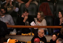 Emily Blunt - Penguins vs Bruins game in Boston 6/7/13