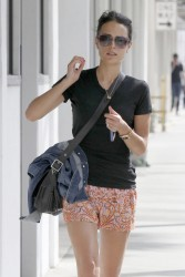 Jordana Brewster - out in LA 6/8/13