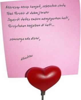 Puisi cinta - Ist