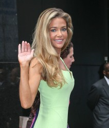 Denise Richards - at GMA studios in NYC 6/11/13