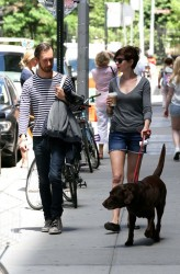 Anne Hathaway - out in NYC 6/12/13