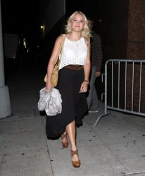 Emily Osment - leaving the Myspace event in LA 6/12/13