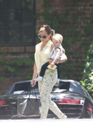 Hilary Duff - out in LA 6/13/13