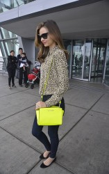 Miranda Kerr - at JFK Airport in NYC 6/14/13