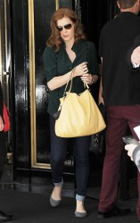 Amy Adams - leaves her hotel in London 6/14/13