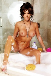 Jennifer Love Hewitt Nude Taking Bath Possing Her Boobs Pussy Fake