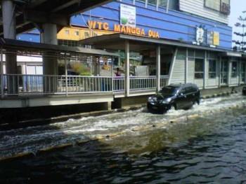 Banjir di Mangga Dua / Detik
