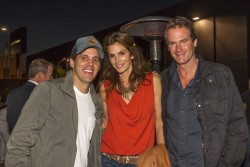 Cindy Crawford - Ryan Bingham at James Perse Highland in Hollywood 6/14/13