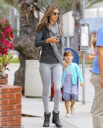 Alessandra Ambrosio - out in Brentwood 6/14/13