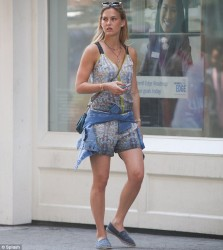 Bar Refaeli - out in NYC 6/17/13