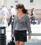 Lea Michele - out in Soho 6/18/13