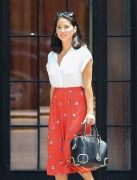 Olivia Munn Leaving Her Hotel in NYC 6/21/13