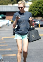 Diane Kruger - out in LA 6/21/13