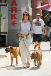 Jessica Biel - out in NYC 6/25/13