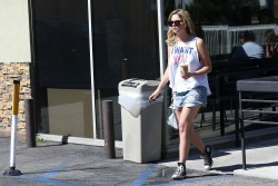 Ashley Benson - out in West Hollywood 6/26/13