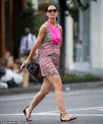 Katie Holmes - out in NYC 6/26/13
