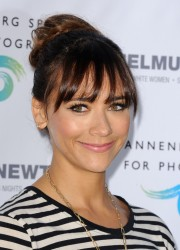 Rashida Jones - Helmut Newton opening night exhibit in Century City 6/27/13