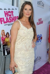 Brooke Shields - 'The Hot Flashes' premiere in Hollywood 6/27/13