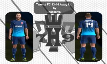 Twente FC 13-14 Away kit pes 2013
