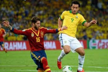 spanyol vs brasil, piala konfederasi