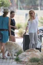 Nicollette Sheridan - out in LA 6/30/13