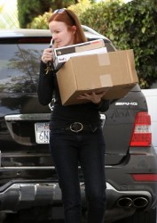 Marcia Cross - out in Brentwood 7/1/13