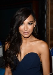 Naya Rivera - At Beyonce's concert in LA 7/1/13