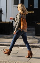 Kate Hudson - on the set of 'Good People' in London 7/4/13