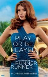 Gemma Arterton - 'Runner Runner' poster