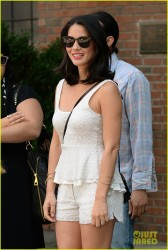 Olivia Munn - leaves her hotel in NYC 7/8/13