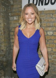 Kimberley Walsh - at Pulse nightclub in London 7/9/13