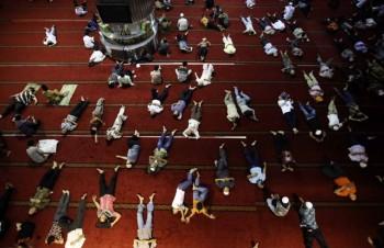ramadan 2013, ramadan tidur di masjid