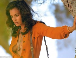 Irina Shayk - on a photoshoot in Ibiza 7/17/13