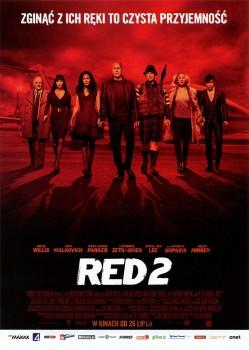 Przód ulotki filmu 'RED 2'