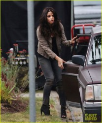 Jenna Dewan-Tatum - On set of 'The Witches of East End' in Canada 7/17/13