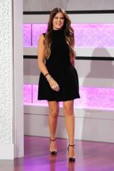Khloe Kardashian - At the 'Kris Jenner Show' 7/19/13