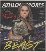 Ronda Rousey- mag. article x3