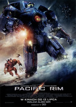 Przód ulotki filmu 'Pacific Rim'