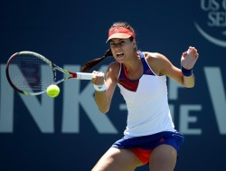Sorana Cirstea - Bank of the West Classic Day 5 in Stanford 7/26/13