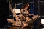 Gia DiMarco and Dani Daniels : A Kinky Strip Club - Kink/ WhippedAss (2013/ HD 720p)