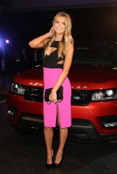 Jennifer Hawkins - Range Rover Sport launch event in Sydney 7/29/13