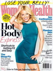 Elizabeth Banks - Women's Health Sept 2013