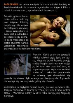 Tył ulotki filmu 'Zaślepiona'